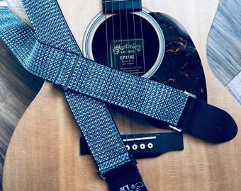 Aqua Guitar Strap