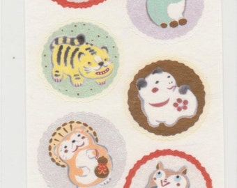 Lucky Item Stickers - Japanese Stickers - Reference TH6778-79