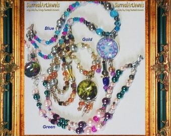 Art Jewel Necklace Handmade Jewelry