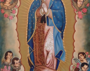 Virgin of Guadalupe Painting