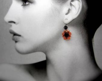 """deadly Mexican Sun"" earrings"