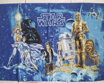 Vintage Star Wars Pillowcase Original