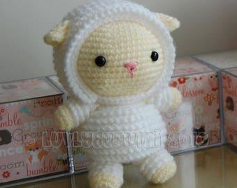 Lamb Amigurumi Pattern