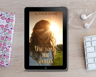 Premade eBook Cover -  The Way She Smiles