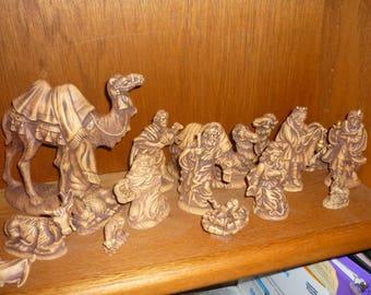 Old World Nativity Set   Ready to Paint