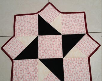 Quilted table topper - Patchwork