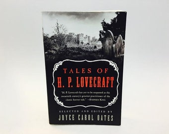 Tales of Lovecraft Edited by Joyce Carol Oates Horror Paperback Softcover Anthology