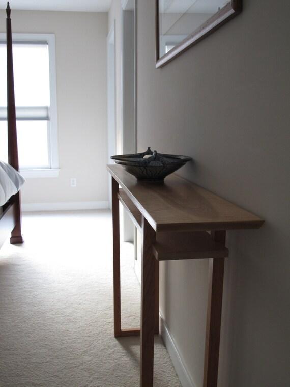 Vanity Table: Narrow Console Table/ Sofa Table/ Narrow Side