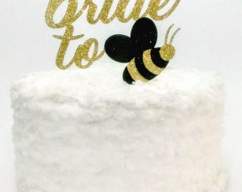 Bride to Bee Cake Topper, Bridal Shower Cake Decoration, Future Mrs, Engagement Party Decor