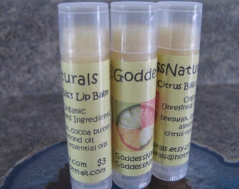 "12 ""Citrus Bliss"" Lip Balms 0.15 oz tubes ""Retail/Resale Value 36.00"""