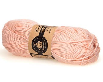 03 Peach Mayflower Organic Cotton 8/4 50g