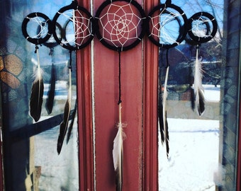 Custom Phases of the Moon Dreamcatcher