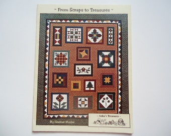 From Scraps to Treasures Quilt Pattern Book