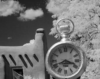 Taos Street Clock