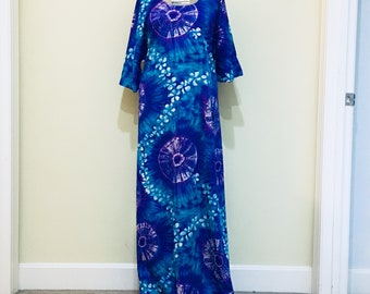 Awesome Tie Dye Vintage Dress From California 1960s
