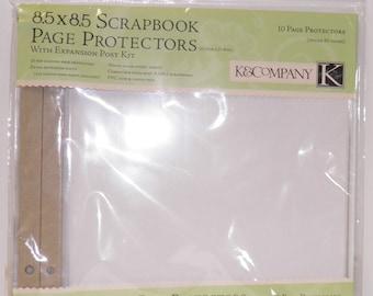 K & Company Scrapbook Page Protectors