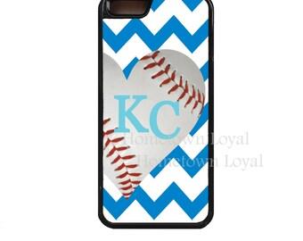 Chevron KC Baseball case.KC.Kansas City phone case.KC phone case.Royal Blue.Kc iPhone case.Kc Samsung case.iPhone 7 case.Kc Gifts.Baseball