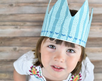 Turquoise Birthday Crown