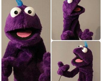 BPC Professional Practice Puppet - PURPLE!