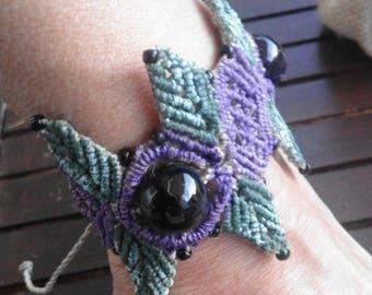 Fantasy of colors.. /bracelet/Jewel/macramé/handmade