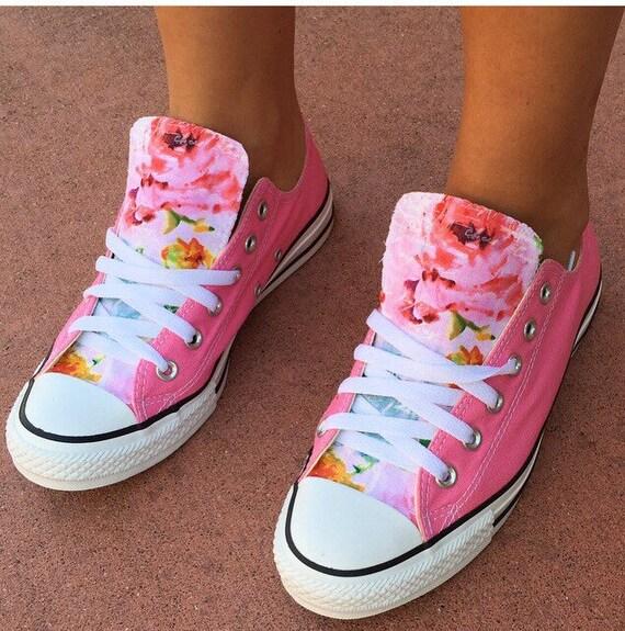 converse floral