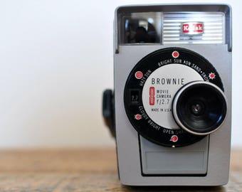 Vintage Brownie 8 Movie Camera Decorative Display Cameras