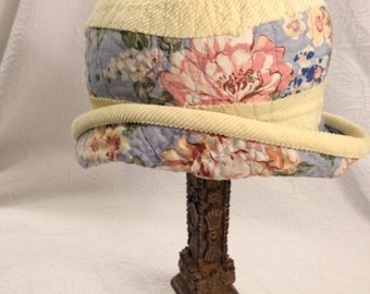 Hat reversible  quilted hat