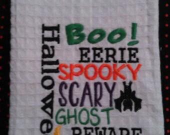 Halloween Kitchen Towel