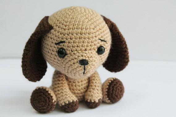 Amigurumis Perros Paso A Paso : PatrÓn: perro cachorro patrón de perro amigurumi crochet