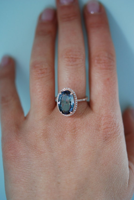 white tanzanite itm ebay aaa ring peacock ct solitaire gold