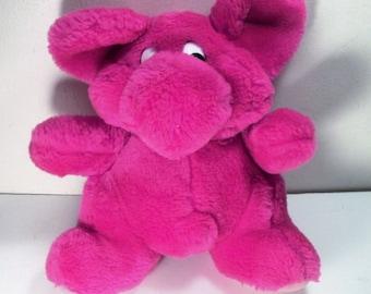 """Kodak Kolorkins Plush Stuffed 8"""" Doll - Pink Rewind 1991"""