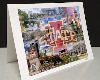 Cy's Nest 5 x 7 Greeting Card - Iowa State University, Ames IA