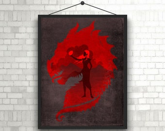 Game Of Thrones Minimal Artwork Poster