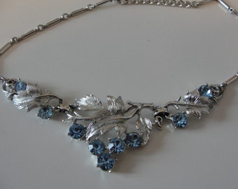 Vintage Coro grapes necklace