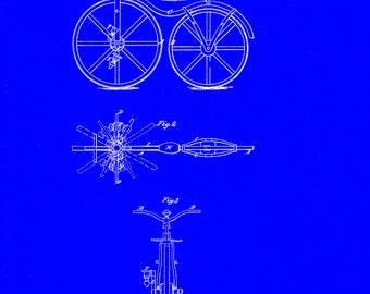 Velocipede Patent # 59915 dated November 20, 1866.