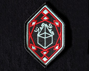 ZAMZAM SOUNDS Embroidered Patch **SINGLE** Diamond Shape