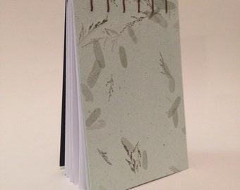 Hand stitched sketch book