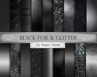 Black foil textures, black foil, black digital paper, black backgrounds, black foil backgrounds, black textures, black metal, dark foil