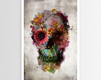 Ali Gulec's Skull 2 POSTER