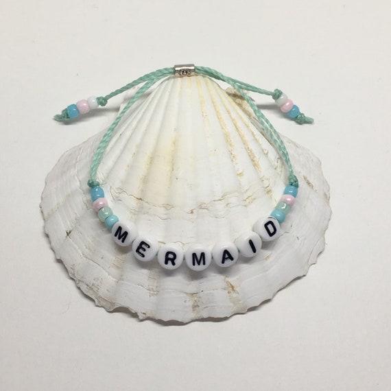 beach bracelet, beachcomber mermaid jewelry, friendship bracelet