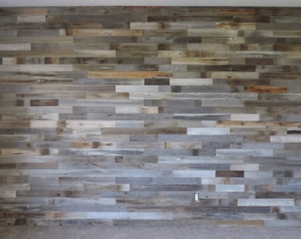 SAMPLE PACK***  Reclaimed Wood Wall Paneling Sample Pack.