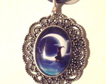 """Necklace """"On the moon"""""""