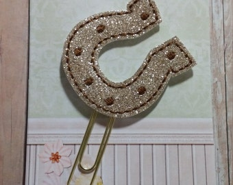 Horse Shoe Planner Clip   Paperclip Bookmark    Bookmark    Paperclip   Planner Bookmark   Paperclip Bookmark   Planner Clips