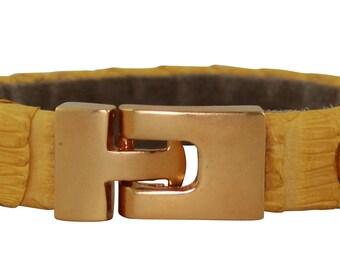 Python Bracelet, Python Cuff, BAJ 496 G Sun