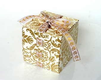 Indian favor box Etsy