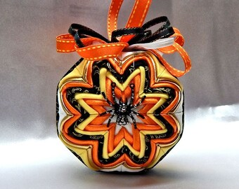 Spider Quilted Ornament