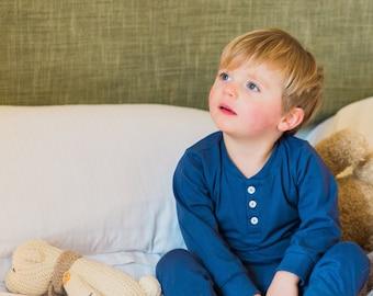 Organic Cotton Children's Pajamas Set, Pyjamas, Bedwear, Loungewear, Sleepwear, Top & Bottom Set, Pjs.