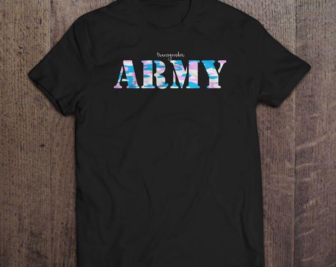 Trans Army T-shirt