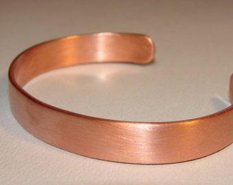 Copper Cuff Bracelet ready for Customization