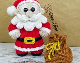 "Claus the Little Santa ""Little Explorer Series"" Amigurumi - PDF Crochet Pattern - Instant Download - Amigurumi Cuddy Stuff"